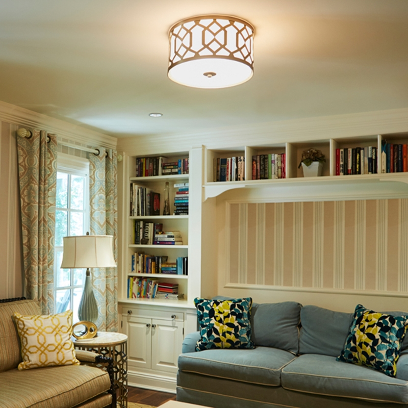 When to Use a Flush Ceiling Light vs a Semi Flush Ceiling Light - LightsOnline Blog